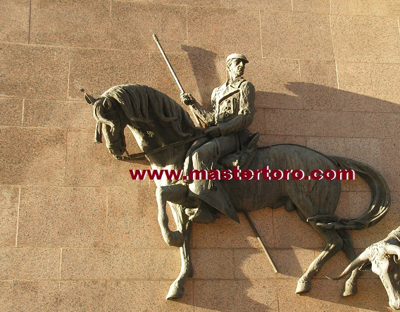 Madrid Las Ventas bullring statue outside the bullring