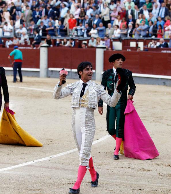 Madrid Bullfight june 5th, Gomez del Pilar won an ear